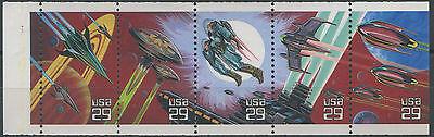Zielstrebig 1993 Us Staaten Vereinigte Nr 2132/2136 Fantasie Raum Se Halten Mnh