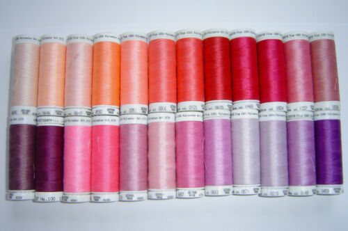 Metlers Sew All Thread in Pinks//Peaches//lilacs