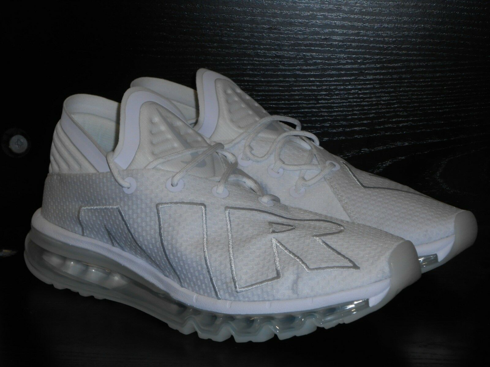 best service e491f 39bcb Nike air max flair Uomo correndo trainer scarpe bianco bianco bianco e 8,5  7692ae