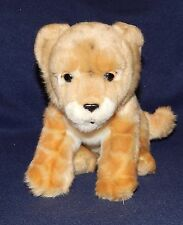 "9"" SOS Save Our Space Baby Lion Leopard Cub Plush Doll Stuffed Animal 2003"