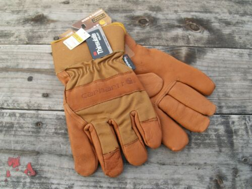 Carhartt Bison Leather Insulated Work Gloves Heavy Duty work gloves A513B