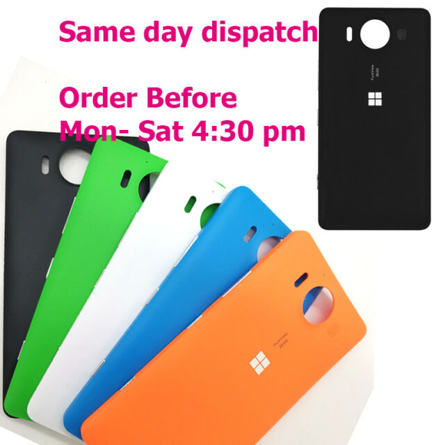 quality design 0a2cb d4b2f Microsoft Nokia Lumia 950 N950 Battery Back Cover Housing Door OEM + Buttons