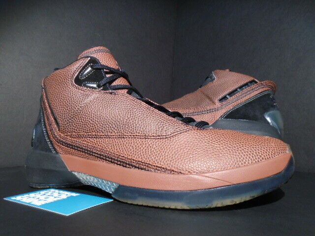 2018 Nike 22 Air Jordan XX2 XXII 22 Nike Baloncesto De Cuero Marrón Negro 316238002 nuevo 9 739aa1