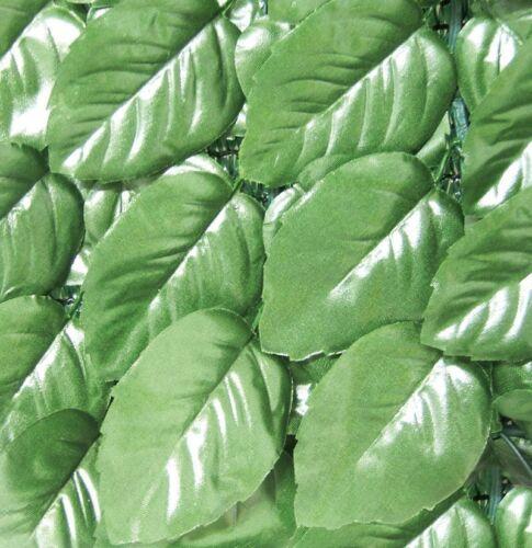 Siepe Finta Arella Sempreverde Sintetica Lauro Plus Siepe Artificiale 1 x 3 mt