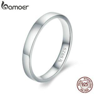 Schlichter-Damen-Ring-echt-Silber-925-Glatt