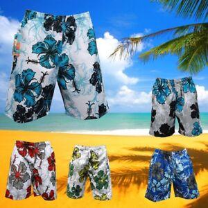 BADE SHORT SHORTS BERMUDA BADEHOSE Weiß Blau in XXXL Größentabelle beachten