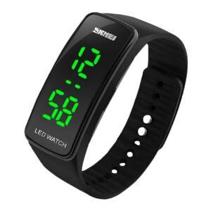 SKMEI-Maenner-Frauen-Silikon-LED-Armband-Sport-Art-und-Touch-Digitale-Uhr-sc-kt