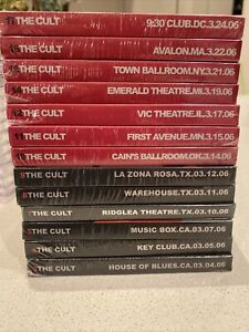 The Cult 2 CD Set Instant live Rare 13 shows to choose or whole 2006 tour rare