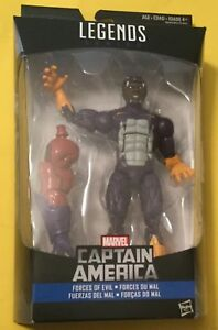 New in stock Red Skull series Marvel Legends Captain America Cottonmouth