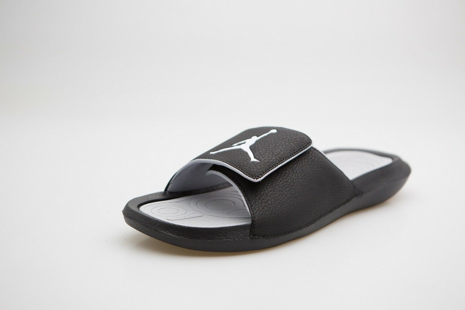 742786300cd2a 881473-011 Jordan Men Hydro 6 Slide Black Black Black White Wolf Grey e83309