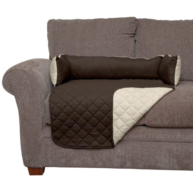 Phenomenal Furhaven Sofa Buddy Pet Bed Furniture Cover Espresso Clay Large Machost Co Dining Chair Design Ideas Machostcouk
