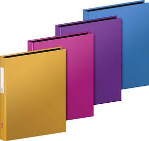 Ringbuch-DIN-A5-mit-4-Ring-Reiss-Mechanik-von-BRUNNEN-in-vielen-Farben