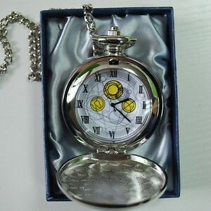 10th DR Doctor Who The Masters Fob Watch David Tennant Metal Pocket Watch