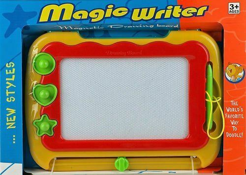 2X CHILDREN/'S MAGIC WRITER MAGNETIC DRAWING SCRIBBLING BOARD