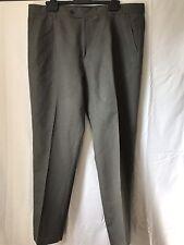 John Lewis Khaki Green Men's Linen Trousers Waist 40, Leg 32