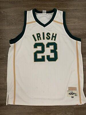 Mary Irish High School Basketball Jerseys LeBron James St Vincent St S 3XL