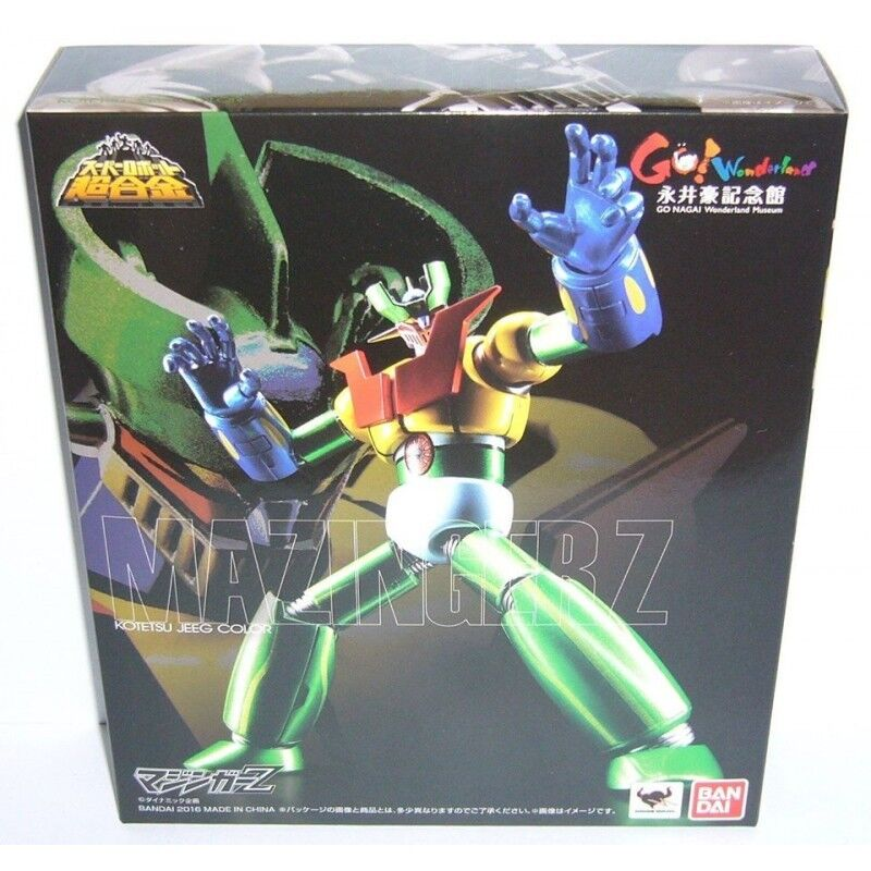 BANDAI MAZINGER Z JEEG COLOR SUPER ROBOT CHOGOKIN LIMITED EDITION