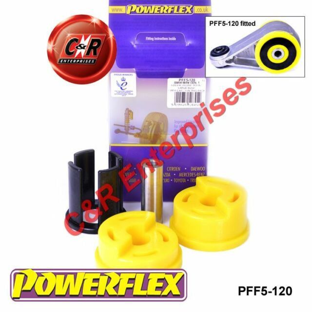 BMW Mini Generation 1 Powerflex Supporto Motore Inferiore (Boccola Grande)