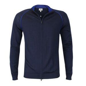 243ba8d950fc Armani Collezioni - Navy Full Zip Cardigan - EU48   S  NEW WITH TAGS ...