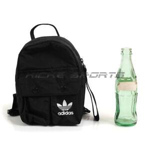 Adidas Originals Mini Backpack Black, Women's Fashion, Bags