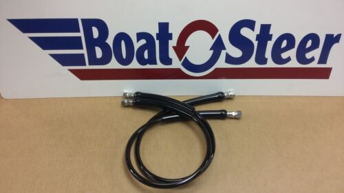 3 ft HO5103 HO5703 Pair SeaStar Steering Hose Stainless Steel Fittings