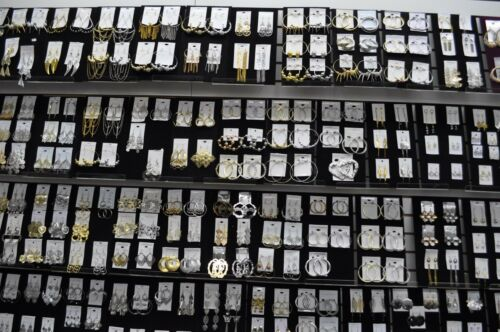 Wholesale Jewelry lot 200 pairs Mixed Style Fashion Dangle Earrings Plated #TDR
