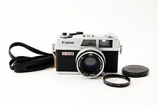 Canon Canonet QL17 GIII G3 Rangefinder Silver [Excellent++] w/Strap from JAPAN