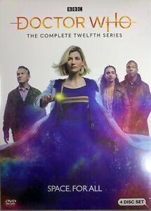 Doctor-Who-Season-12-DVD-4-Disc-Set-2020-NEW-FREE-SHIPPING
