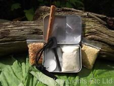 ULTIMATE BUSHCRAFT/SURVIVAL FIRELIGHTING KIT BEST ON EBAY EVERYTHING YOU NEED