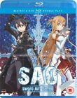 Sword Art Online - Part 1 (Blu-ray and DVD Combo, 2013, 2-Disc Set)
