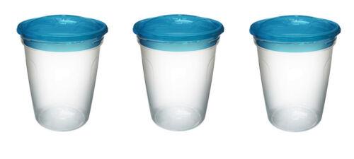 etc Griptight-Grande Valeur 3 Pack De Stockage Pots-Idéal pour la nourriture montées de lait