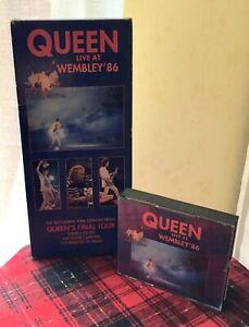 Queen-Live-At-Wembley-86-Doppio-CD-Hollywood-Records-1992-Raro-Case-HR-61104-2