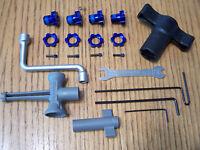 Traxxas Brushless E-Maxx 17mm Wheel Hexes Splined Hex Hub Tool Kit Summit E-revo