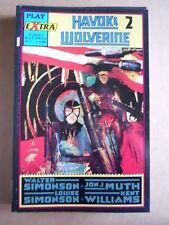 HAVOKE & WOLVERINE Serie Volume 2 di 4 - Play Extra n°7 Play Press  [G495]