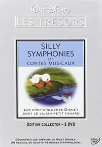Silly-Symphonies-Les-contes-musicaux-Edition-Collector-2-DVD-DVD-NEUF