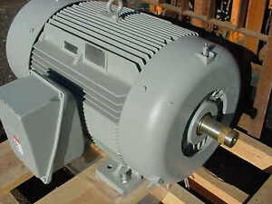 New siemens 200 hp electric motor severe duty 3575 rpm for Weg severe duty motor