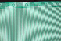 1.12 Scale Wallpaper - Gingham Green Design - Dolls House