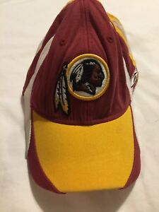 d8d2bbdd65f Image is loading Washington-Redskins-Classic-Reebok-Hat-Cap-Red-Yellow-