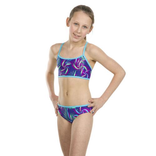 Speedo Bikini für Mädchen Kinder Zweiteiler Sportbikini Bademode Schwimmen