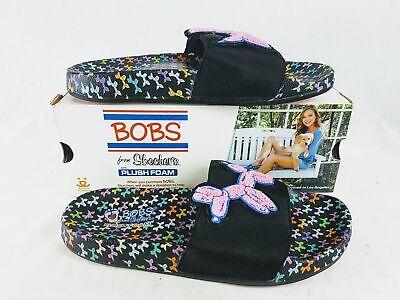 Skechers Damen Bobs Pop Up Sommer Festival Sandalen in Schwarz Multi Größe 8 & 10 | eBay