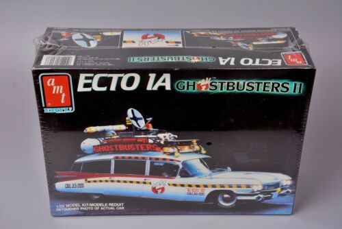 Vintage New-Old Stock Ghostbusters 2 II Ecto 1 A Cadillac ERTL Model Kit