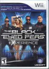 The Black Eyed Peas Experience  Dance Party (Wii, 2011) Brand New Sealed
