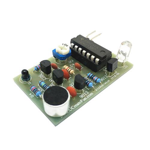 LED Blink Circuit Electronic DIY Kit LED Flash Light Circuit Kits Training