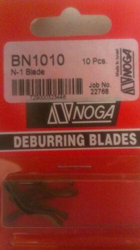 2 PACKAGES NOGA Package of 10 Noga N-1 Blade BN1010 EACH HAS 10 BLADES