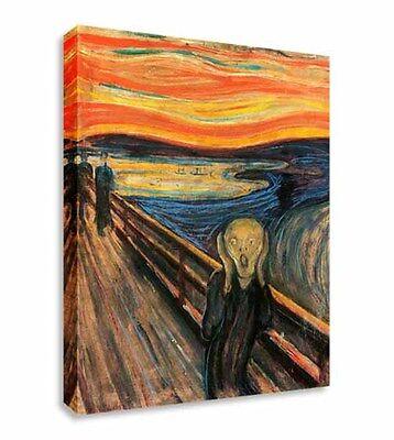 The Scream - Edvard Munch Canvas Wall Art Picture Canvas Art Cheap Print