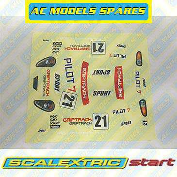 M5613 Scalextric Decal Sheet