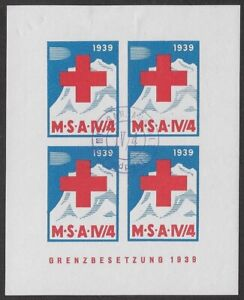 Switzerland-Soldier-stamp-Sanitats-Medical-Corps-78-ImpBlk-M-S-A-IV-4-ow413