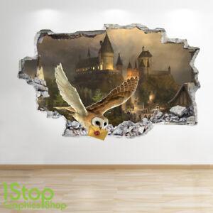 Harry Potter Adesivo Da Parete 3d Look Camera Da Letto Bambini