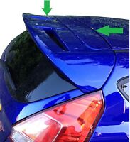 ABS Rear tailgate roof Spoiler ST look Ford Fiesta MK7 VII 2008 on NEW 7 8 RS