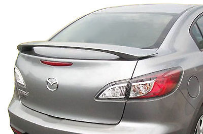 Factory Style Lip Spoiler for the Mazda 3 Sedan Painted in the Factory Paint Code of Your Choice 538 41V with 3M tape included
